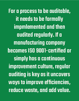 Auditability Definition
