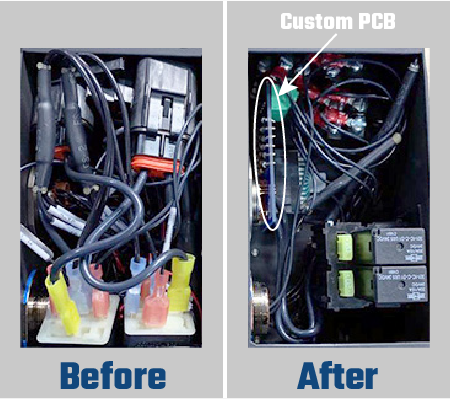 PCB - Before and After