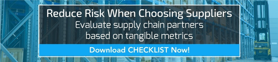 Prospective Supplier Evaluation Checklist