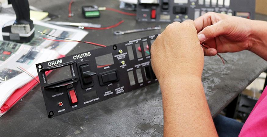 Concrete mixer interface 875x450